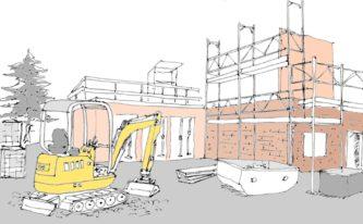 Neubauplanung - die Bewohner fördern